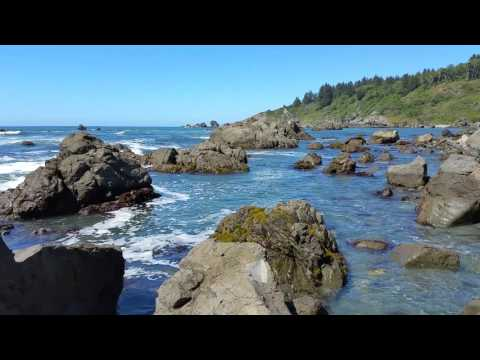 Palmers Point at Patricks Point State Park.