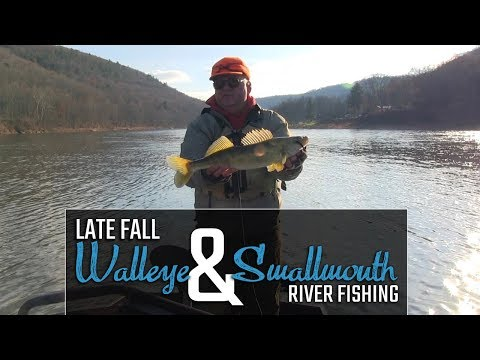 Allegheny River Winter Walleye And Smallmouth Fishing