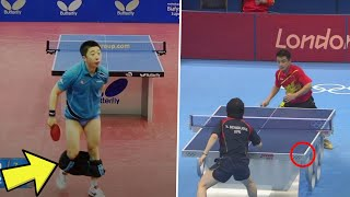 WTF Moments in Table Tennis