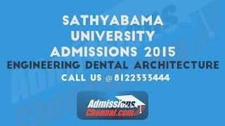 satyabama university