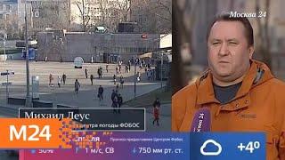 Смотреть видео Москвичей ждет солнечная погода - Москва 24 онлайн