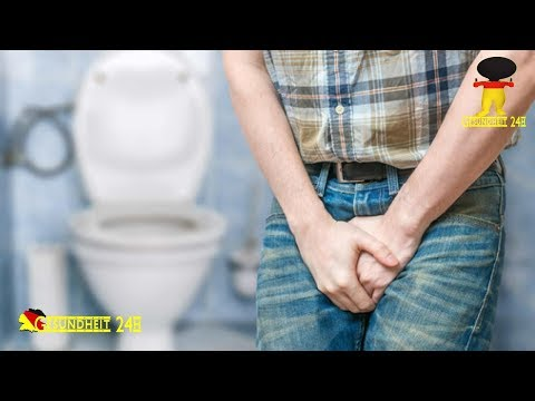 Auch Männer bekommen Blasenentzündungen