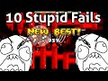 10 MOST STUPID FAILS IN EXTREME DEMONS | GEOMETRY DASH