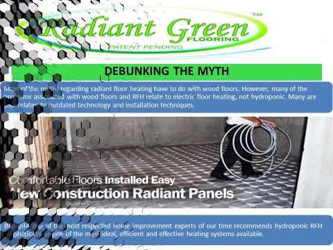 Radiant Green In Floor Heating