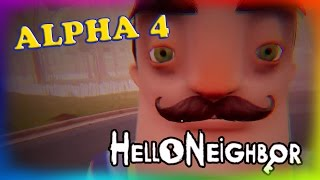 Hello Neighbor Alpha 4 | Sister Location | Bendy and the Ink Machine | may 6, 2017 | ended