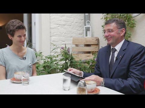 Rita Huber & Jörg Leichtfried im 2+1 Sommergespräch