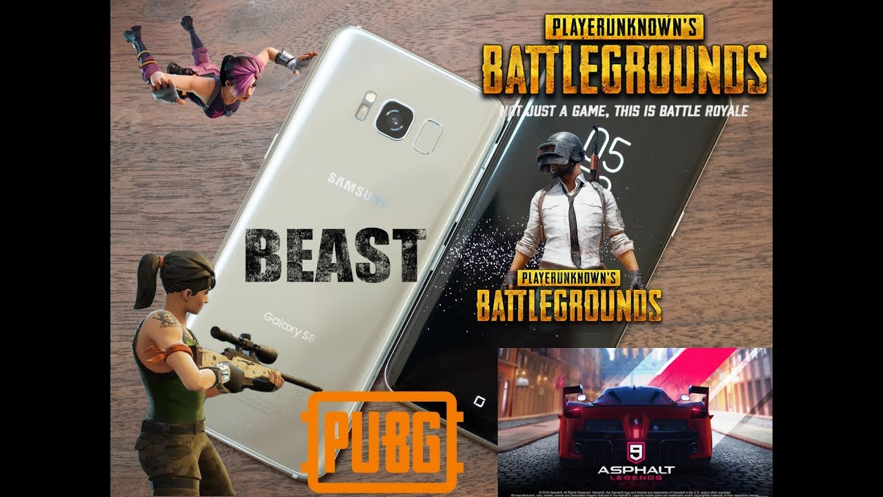 Pubg Mobile Gameplay Iphone 8 Plus Ultra Settings: Samsung Galaxy S8 Can Run PUBG On Ultra