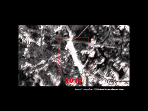 Isle De Jean Charles 1973-2010 Land-Loss Animation