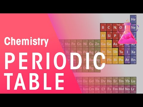 How The Elements Are Laid Out In The Periodic Table | Properties of Matter | Chemistry | FuseSchool
