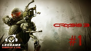 🔴 🔴 🔴 Crysis 3 #1 - GTX 1080 Modo Ultra Setting 1080P/60Fs ( Gameplay em Português )