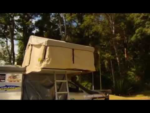 C&ing Accessories Yulara Roof Top Tent & Camping Accessories Yulara Roof Top Tent - YouTube