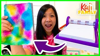 DIY Crayola Paper Maker Craft Kit!!