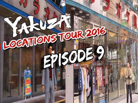Yakuza『龍が如く』Locations Tour 2016 - Karaokekan Karaoke Mini-game (カラオケ館) - Kabukicho Tokyo