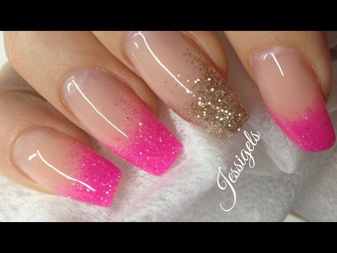 How to: Intensify See-through glitter With Gel
