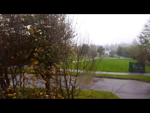 Hurricane Ophelia Hits Cork
