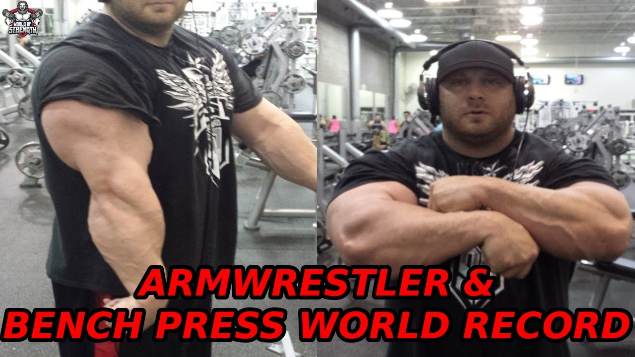 The Armwrestler Who Held The Bench Press World Record - Eric Spoto