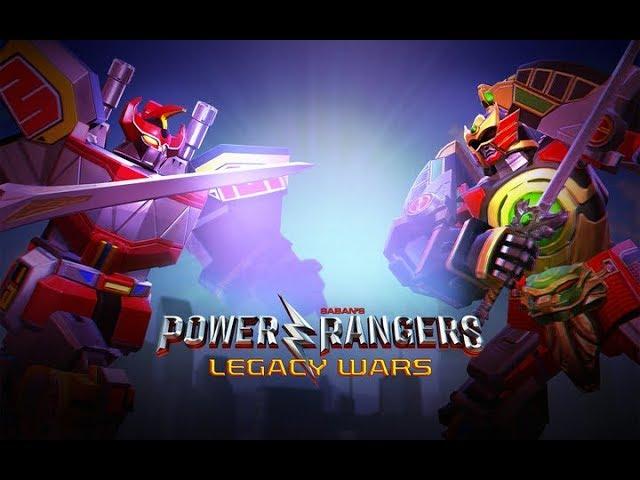 Power Rangers Legacy Wars: Google Play Gameplay Video