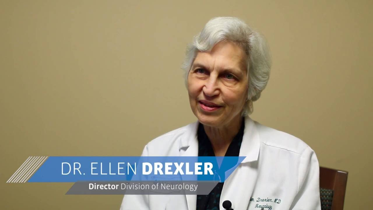 Dr  Ellen Drexler, Director of Neurology at Maimonides Medical Center