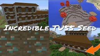 Minecraft Xbox / PlayStation TU55 Seed - 2 Woodland Mansion, Diamonds Under  Spawn & Mushroom Biome by Subby