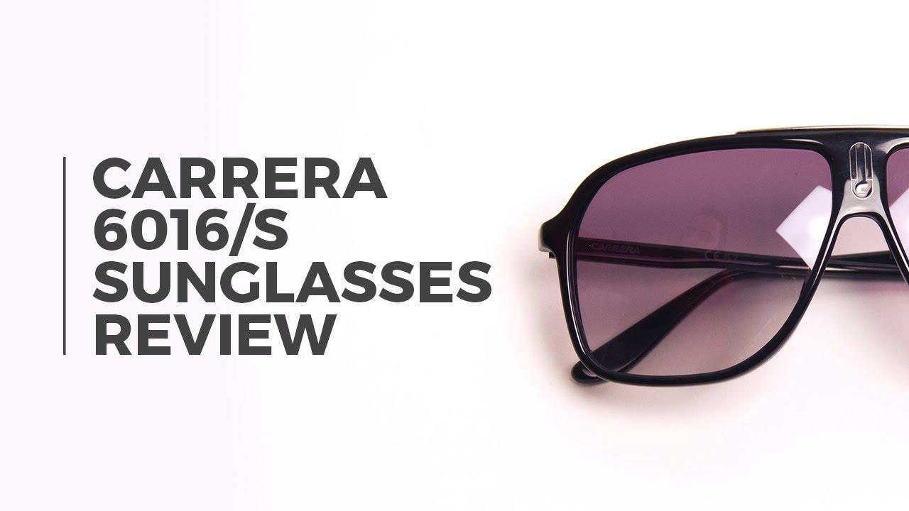 82622f66242656 CARRERA 6016 S Sunglasses Review | SmartBuyGlasses - YouTube