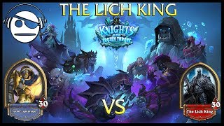 Hearthstone | Knights of the Frozen Throne | The Lich King Vs Paladin