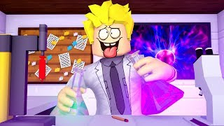CRAZY ROBLOX SCIENTIST!