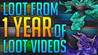 Runescape - Loot From 1 Year of Loot Videos