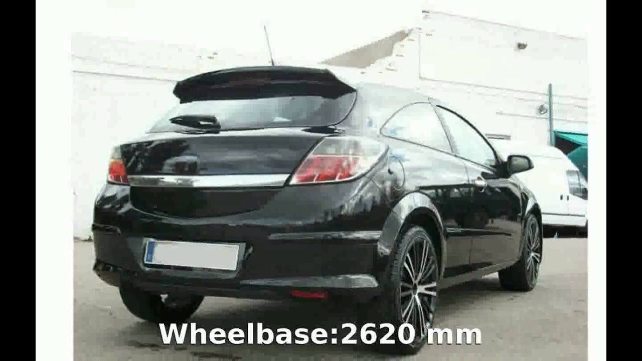 2006 opel astra gtc 1 9 cdti details specs youtube. Black Bedroom Furniture Sets. Home Design Ideas