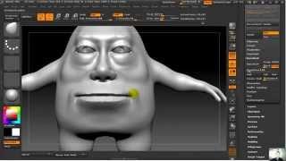 ZBrush урок 2 Практика по созданию персонажа «Человек Картошка»