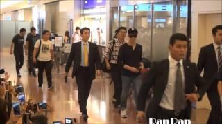 ユチョンが2015.7.21夕刻に羽田空港に到着!