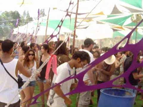 MOKSHA  INDIGO FESTIVAL 2010 - מוקשה  אינדיגו פסטיבל שבועות  חלק  א,