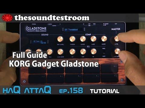 KORG Gadget Gladstone │ iPad and iPhone │ Full Guide - haQ attaQ 158