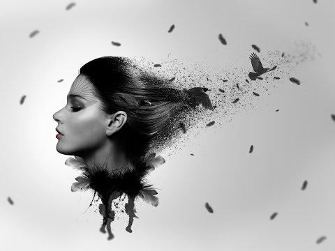 Como crear una fotomanipulacion [episodio 5][Mujer Cuervo][photoshop CC 2014]