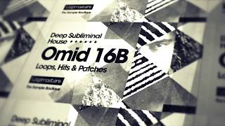 Omid 16B 'Deep Subliminal House' - House Drum Samples Music Loops