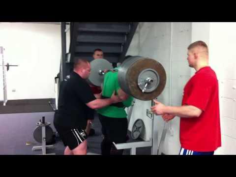 Vytautas Lalas 380 kg squat