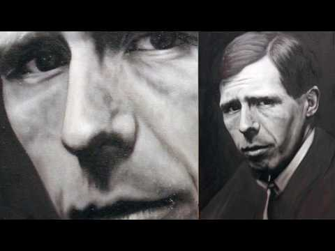William Orpen - A Grisaille Oil Portrait Timelapse