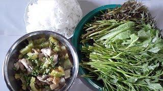 Tự Học Nấu LẨU MẮM MIỀN TÂY Rau Củ Quả Cây Nhà Lá Vườn - Món Ăn Ngon Dân Dã
