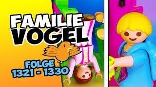 Playmobil Filme Familie Vogel: Folge 1321-1330 Kinderserie   Videosammlung Compilation Deutsch