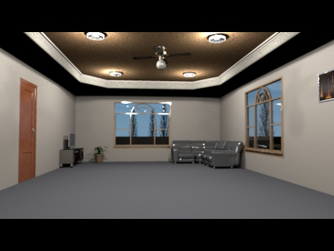 Sweet Home 3d Octagon Tray Ceiling Youtube