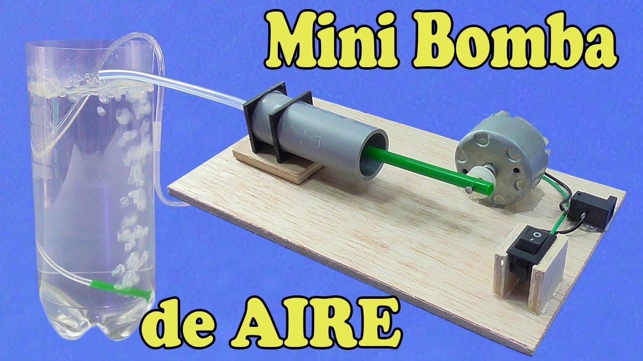 Cmo Hacer Una Mini Bomba de Aire muy fcil de hacer