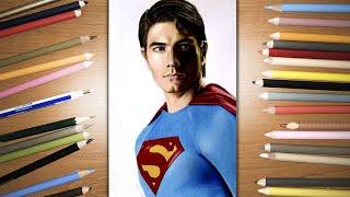 Speed Drawing: Superman - Brandon Routh | Jasmina Susak