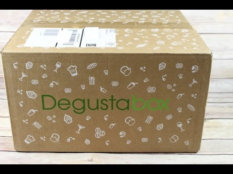Degustabox March 2017 Unboxing + 50% Coupon + Free Shipping + Free Gift