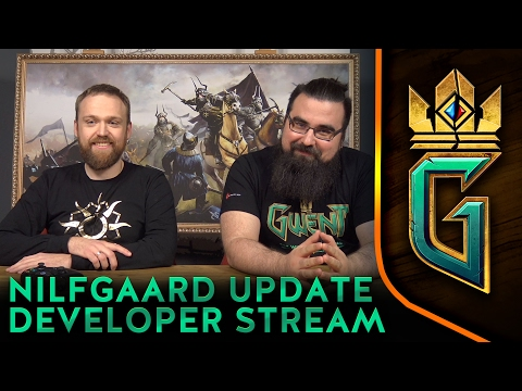 GWENT: THE WITCHER CARD GAME   Nilfgaard Patch Notes with Developers