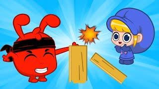 Ninja Morphle   Morphle and Friends   Cartoons for Kids  Morphle