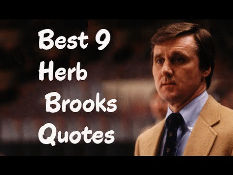 Best 9 Herb Brooks Quotes - The American Ice Hockey Player & Coach