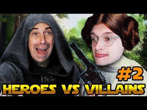 A SHOCKING TWIST - Star Wars Battlefront 2 (Heroes VS Villains) - PART 2 thumbnail
