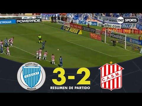 Resumen de Godoy Cruz vs San Martín T (3-2) | Fecha 18 - Superliga Argentina 2018/2019