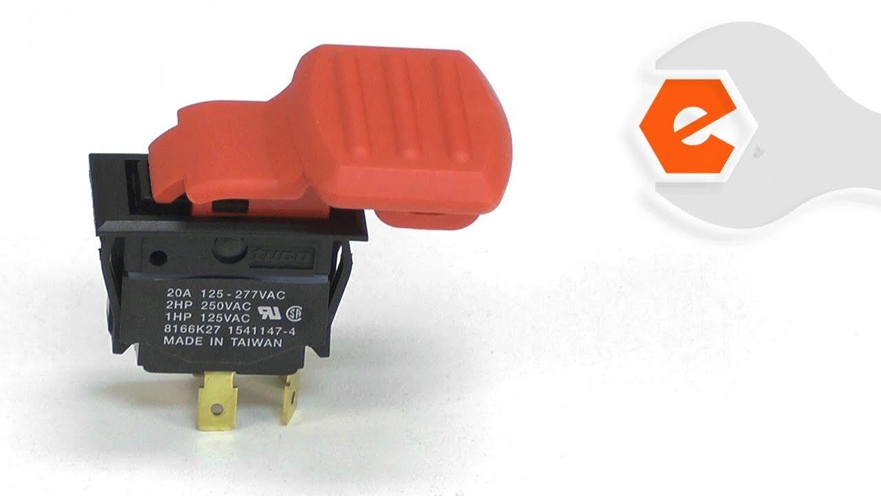 dewalt planer repair - replacing the switch (dewalt part # 5140010-63)