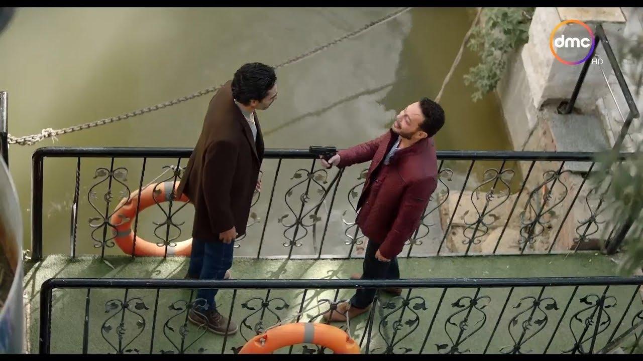 مسلسل البرنس - فتحي الشيطان ضرب أخوه ياسر بالنار
