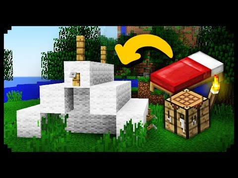 Minecraft How To Make Working Tent